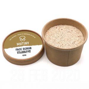 Face Scrub - Aduki Beans & Chamomile Tea